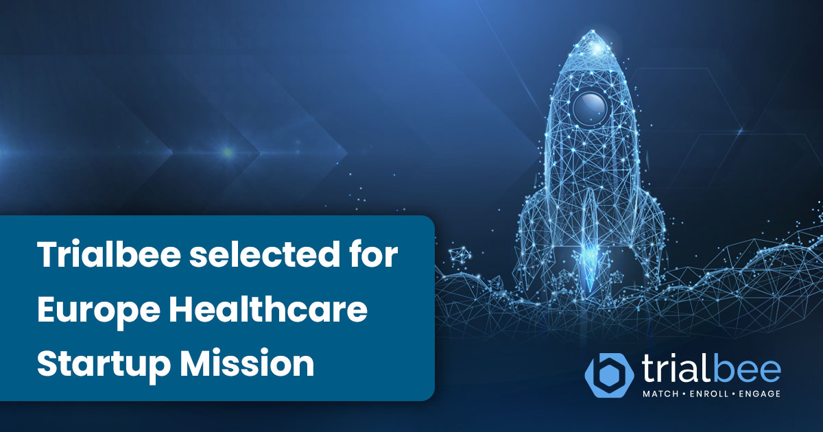 Trialbee selected for Europe Healthcare Startup Mission