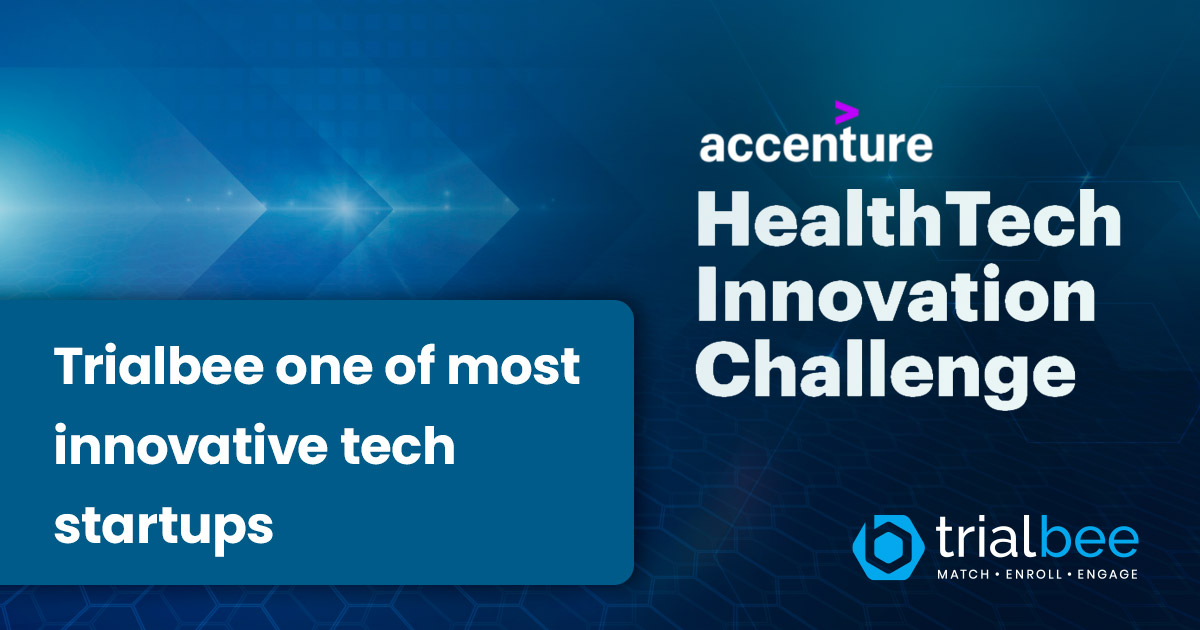 Trialbee recognized as one of the most innovative health tech startups in the world serving the life science industry