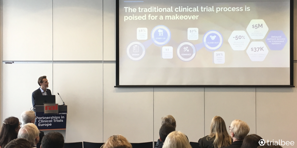 Trialbee to speak at Partnerships in Clinical Trials Europe in Amsterdam