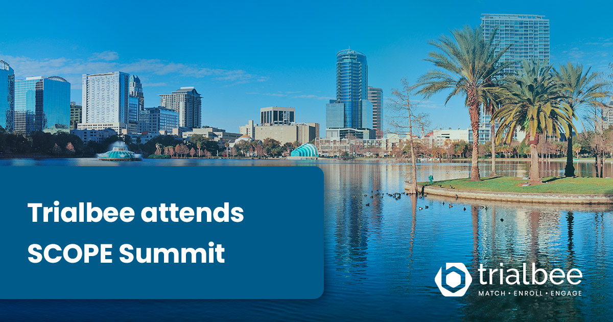 Trialbee to attend SCOPE Summit