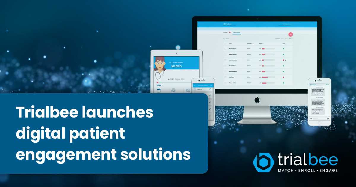 Trialbee launches Digital Patient Engagement Solutions that enable patient-centric clinical trials