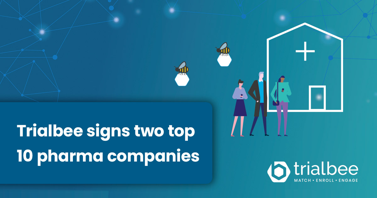 Biospace: Trialbee Signs Two Top Ten Pharmaceutical Companies for Its Patient-Matching and Engagement Platforms