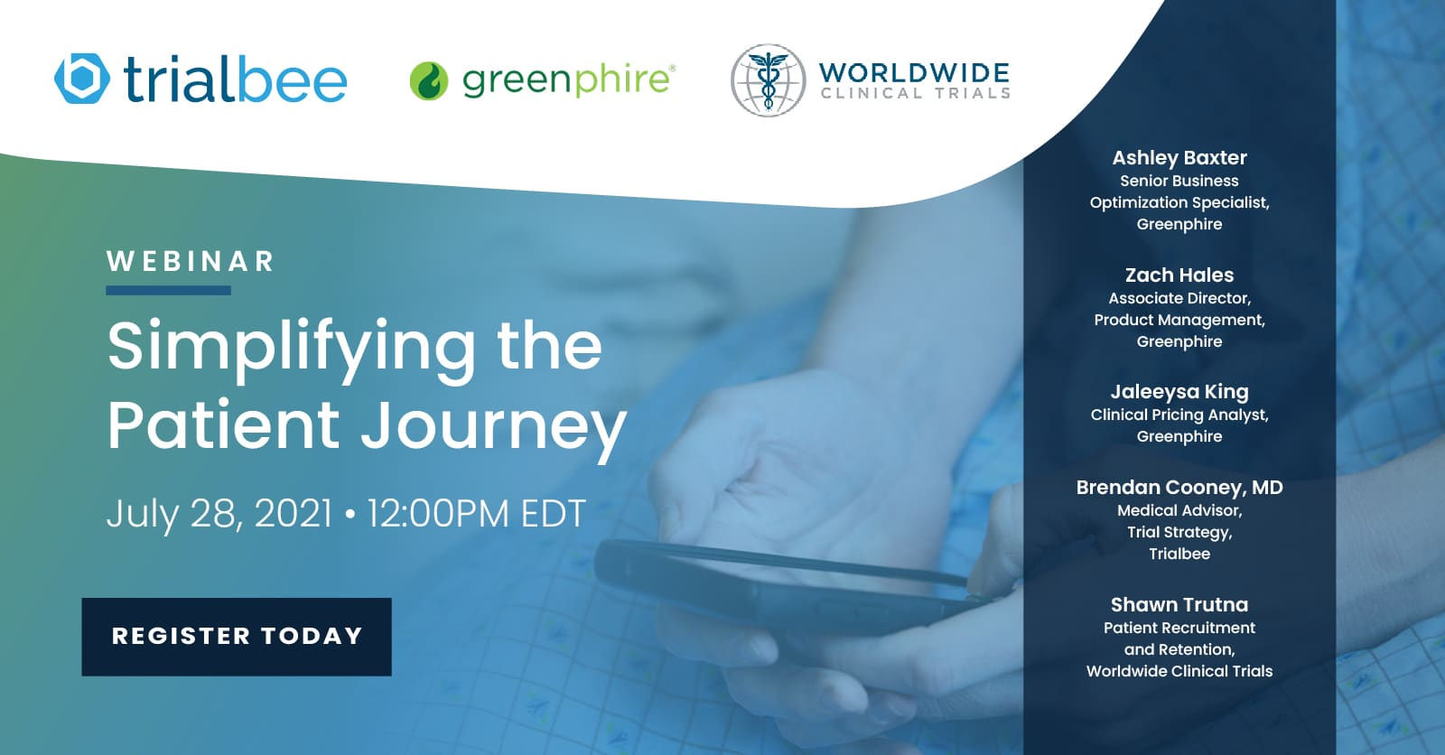 Simplifying the Patient Journey: Driving Enrolment and Retention Through Technology